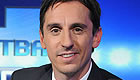 Neville sees funny side of Man Utd defending