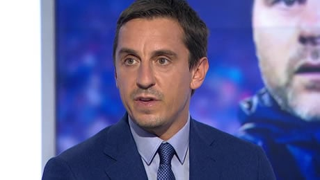 Gary Neville delivers verdict on Arsenal and Liverpool's title hopes