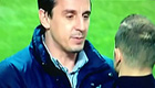 Video: England coach Gary Neville scolds Arsenal star Jack Wilshere