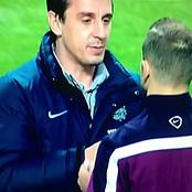 Video: England coach Gary Neville scolds Arsenal star Jack Wilshere