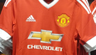 Photos: New Adidas Man Utd home kit 'put on sale in US'