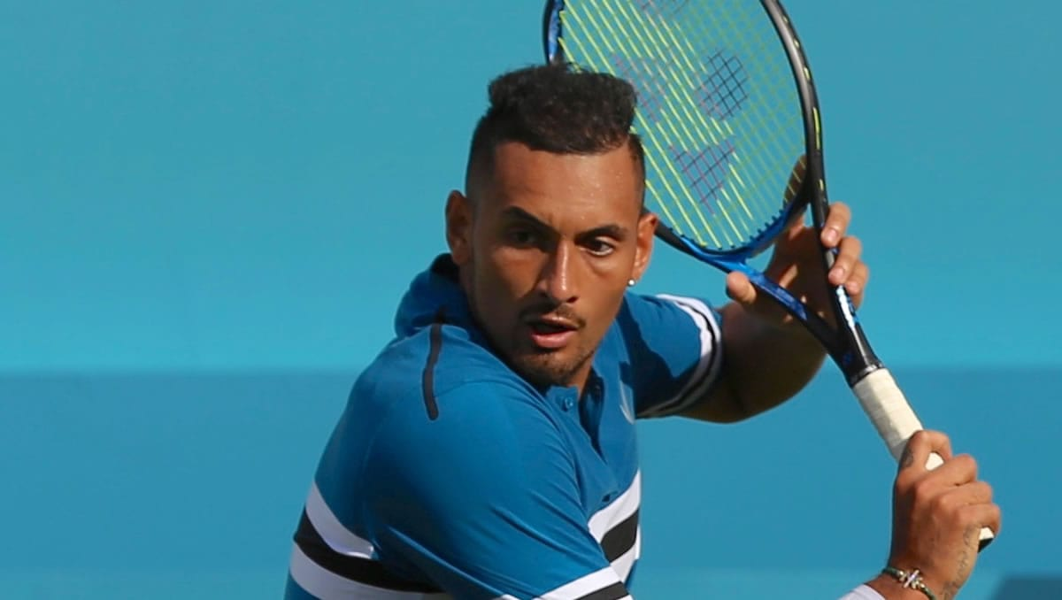 Nick Kyrgios (Photo: Marianne Bevis)