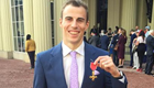 Squash champion Matthew collects OBE