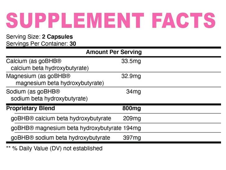 The Nobi Nutrition Women's 'Fat Burner' formula, shown on Amazon.com at the time of writing