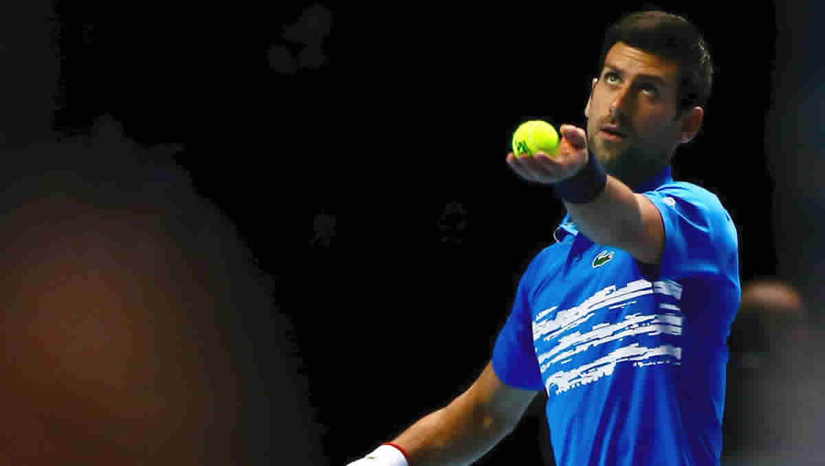Novak Djokovic is defending champion at the Mutua Madrid Open (Photo: Marianne Bevis)