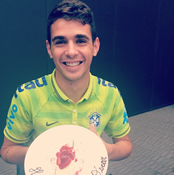 Photo: Oscar 'proud to be part' of Chelsea side