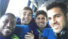 Photo: Chelsea star posts selfie with Diego Costa and Cesc Fabregas