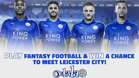 Win the chance to watch Leicester City train and meet the Premier League champions