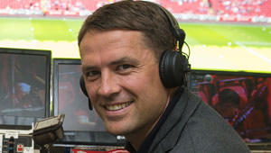 Michael Owen reacts to Liverpool's 3-0 win over Villarreal
