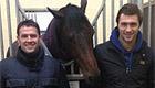 Photo: Liverpool legend introduces QPR's Charlie Austin to his racehorse