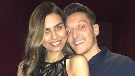 Meet Arsenal star Mesut Ozil's girlfriend Amine Gulse