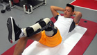 Photo: Arsenal's Mesut Ozil continues recovery on 'magic carpet'