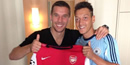 Lukas Podolski 'glad to have Mesut Özil back' in Arsenal squad