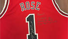 Photo: Arsenal's Mesut Ozil thrilled with Derrick Rose's Chicago Bulls shirt