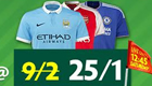 Betting: Get 25/1 enhanced odds on Arsenal, Chelsea, City