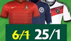 Betting tips: Get 25/1 enhanced odds on Germany, Portugal and more