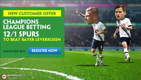 Bayer Leverkusen v Tottenham: Betting tips, prediction and enhanced odds