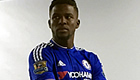 Photo: New Chelsea signing poses in Blues kit for the first time