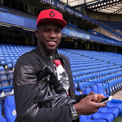 Djilobodji all smiles at Stamford Bridge