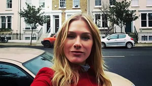 Photo: New Chelsea signing's girlfriend goes house hunting in London