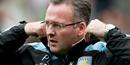 Aston Villa 0 Southampton 0: Paul Lambert praises his side's 'commitment'