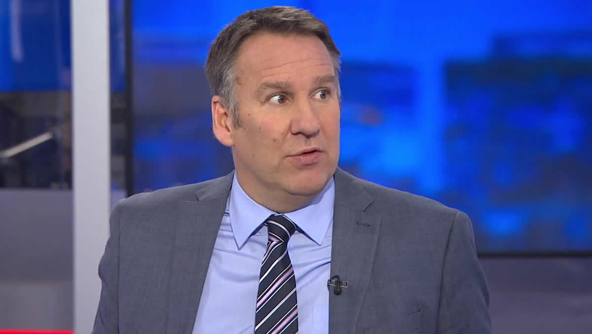 Paul Merson reveals his prediction for Tottenham v Leicester