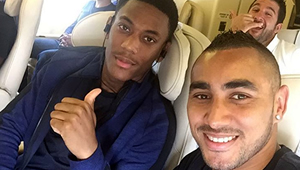 Photo: Man Utd's Anthony Martial all smiles with Chelsea transfer target