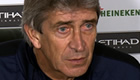 Manuel Pellegrini: Man City's clash at Chelsea won't decide title