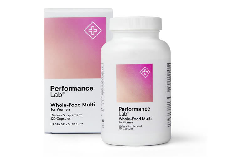 Performance Lab Whole Food Multi for Women