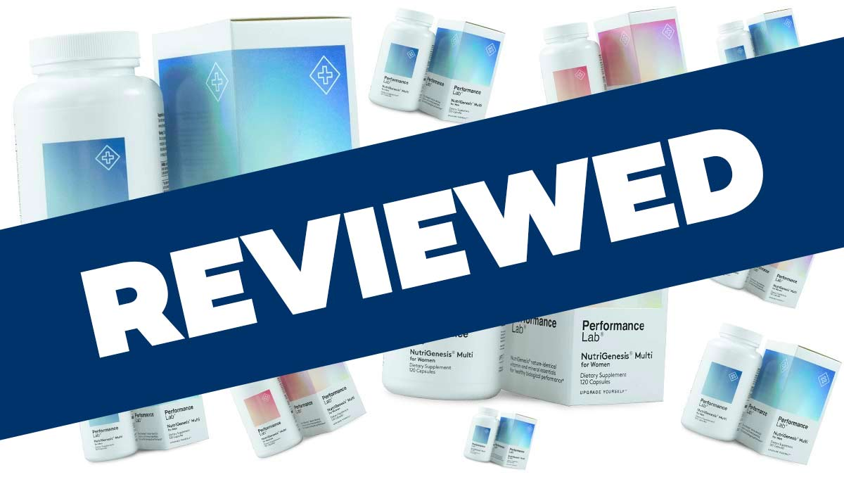 Performance Lab NutriGenesis Multi Review