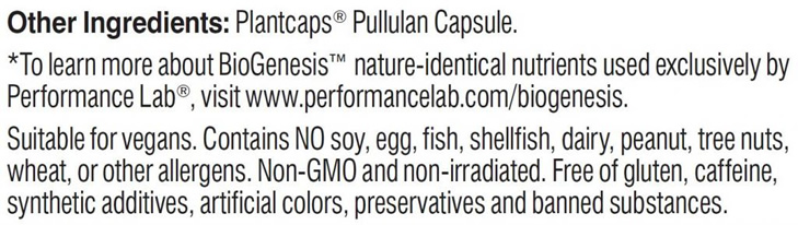 Other multivitamin ingredients