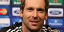 Petr Cech welcomes Chelsea legend Didier Drogba back home