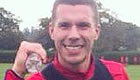 Photos: Lukas Podolski prepares for Arsenal's clash at Leicester City