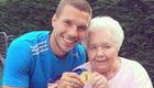 PHOTOS: Podolski draws inspiration from grandmas