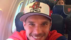 Podolski wants showdown Arsenal talks