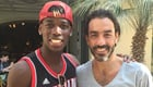 Pires hangs out with Juve's Pogba
