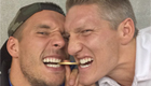 Podolski sends birthday wishes to Man Utd signing
