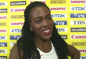 Tiffany Porter lays down marker at Anniversary Games in London