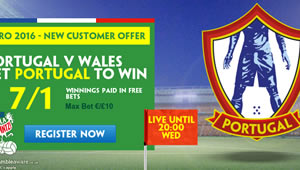 Betting tips: Portugal v Wales enhanced odds, kick-off time and preview