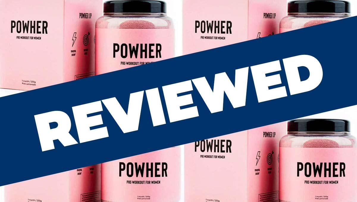 Powher Pre Workout Review