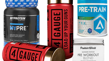 The five top pre workout supplements