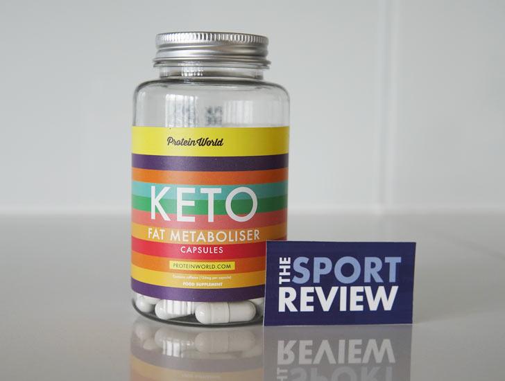 Protein World Keto Fat Metaboliser Capsules