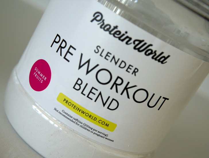 Protein World Slender Pre Workout Blend
