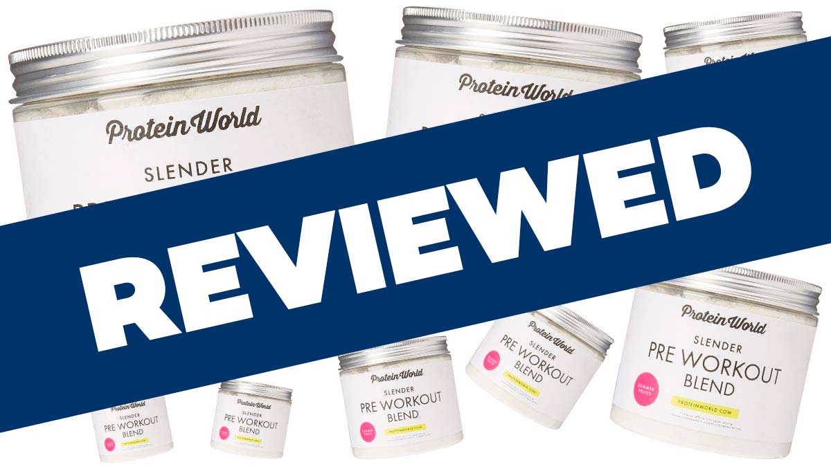 Protein World Slender Pre Workout Blend Review