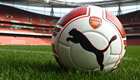 Arsenal and Puma unveil world's first left-footed football