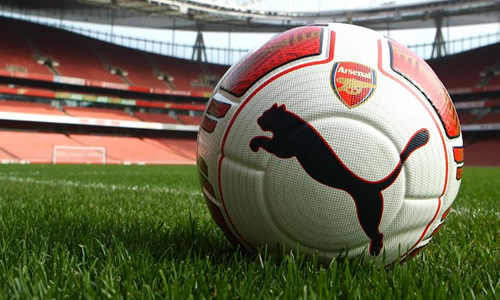 arsenal left-footed football