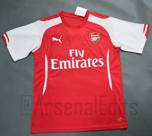 arsenal new puma kit