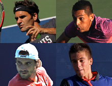 From Federer to Kyrgios: Spanning the generations