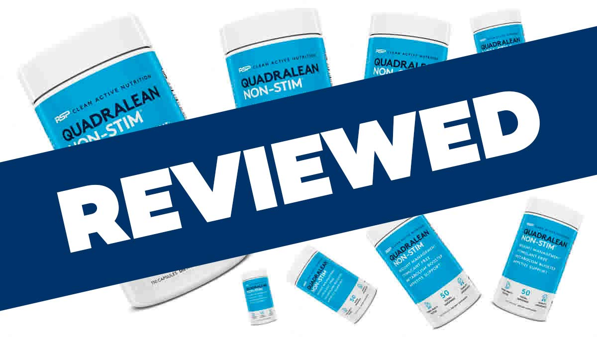 QuadraLean Non-Stim Review