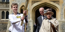 London 2012: From Roger Bannister to the Queen, torch fans the flames